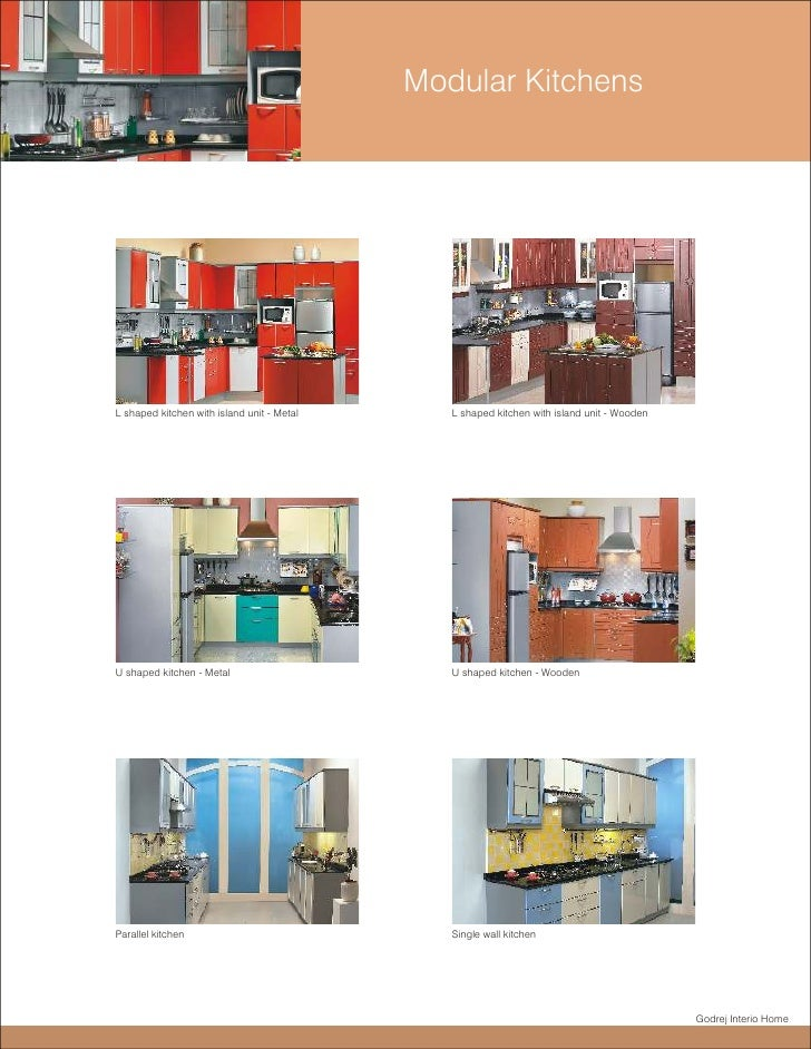 godrej interio home 19 modular kitchensl shaped kitchen