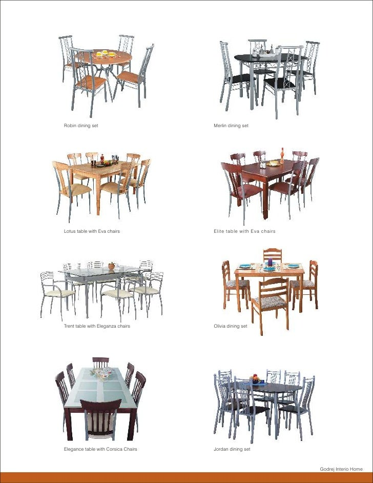 ... Table With Edna Chairs Godrej Interio Home; 9. Robin Dining ... Part 38