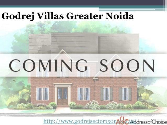 http://www.godrejsector150noida.in/ Godrej Villas Greater Noida