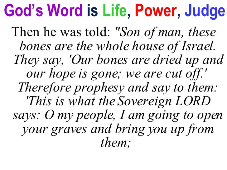 god s word exerts power Paul tells the romans, who were drunk with worldly power, that he was not ashamed of the gospel because it is the power of god.