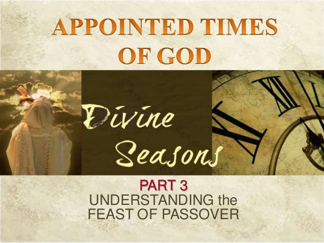 God's appointed time part 3