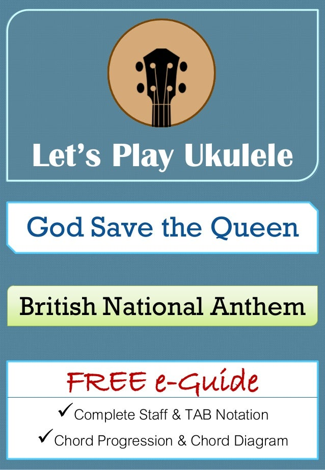 God Save the Queen | Let's Play Ukulele | Free e-Guide