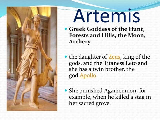 examples of greek gods