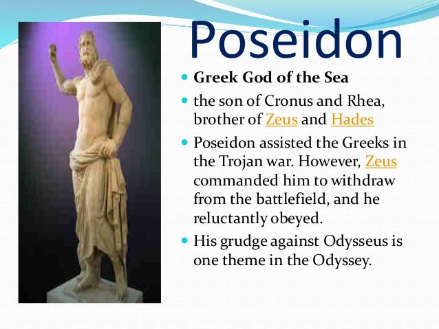 Role of gods and goddesses in