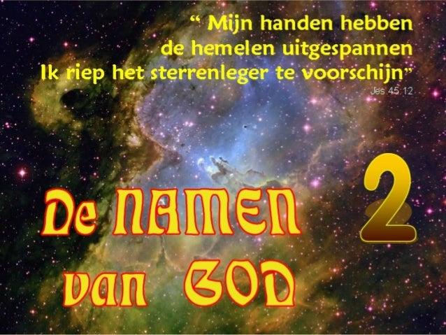 GODS NAMEN 2 +