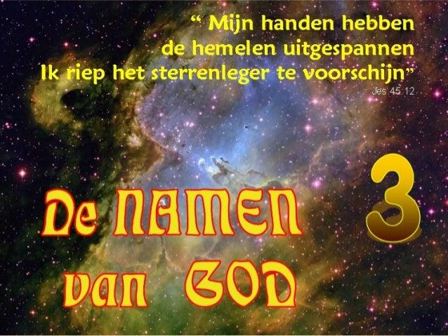 GODS NAMEN 3 +