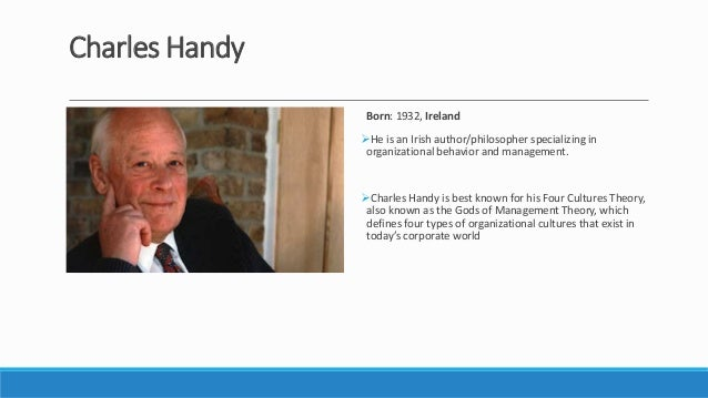 charles handy What are the prospects for systemic change in business.