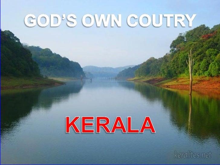 God's own country -kerala Slide 1