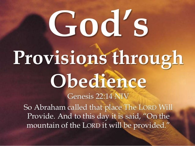 Image result for The Place of Obedience