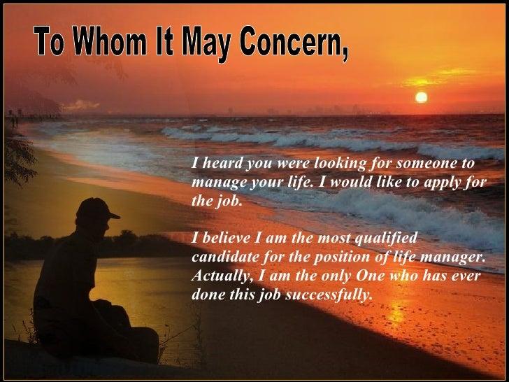 Gods Resume Slide 2
