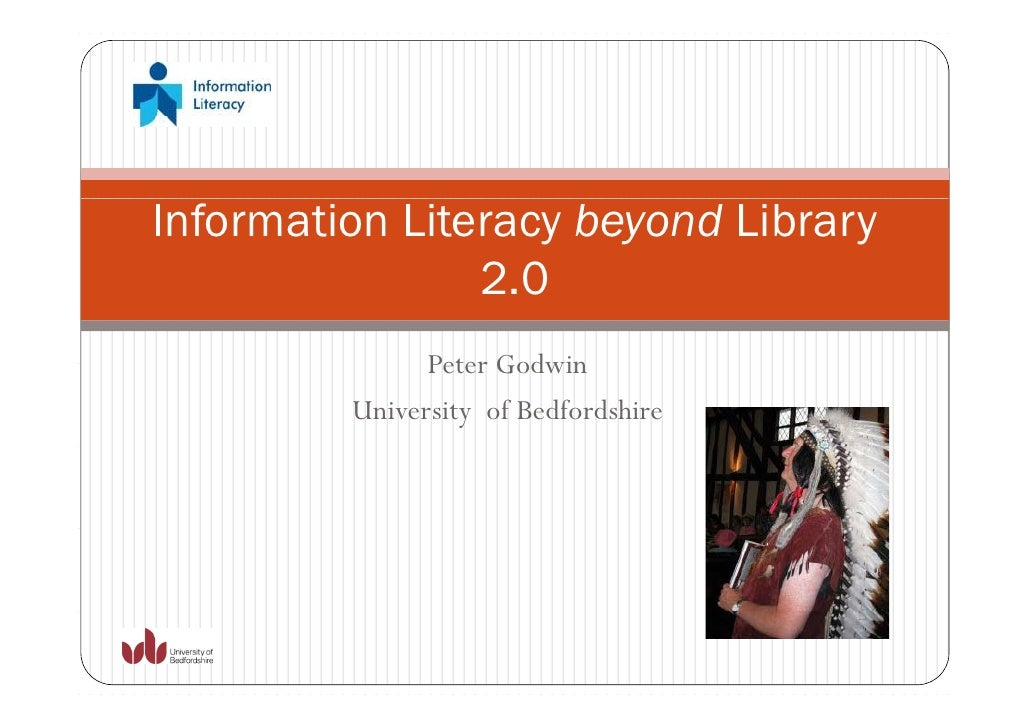 Information Literacy beyond Library                2.0                20               Peter Godwin         University of ...