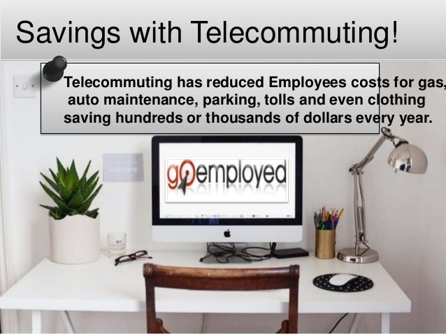 Goemployed Telecommuting Job Opportunities