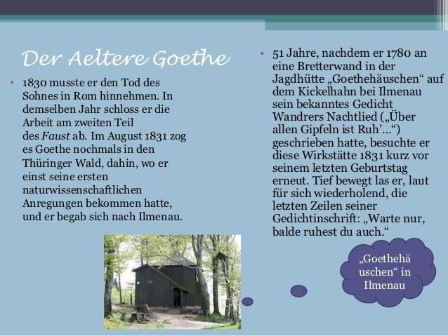 Goethe Webquest