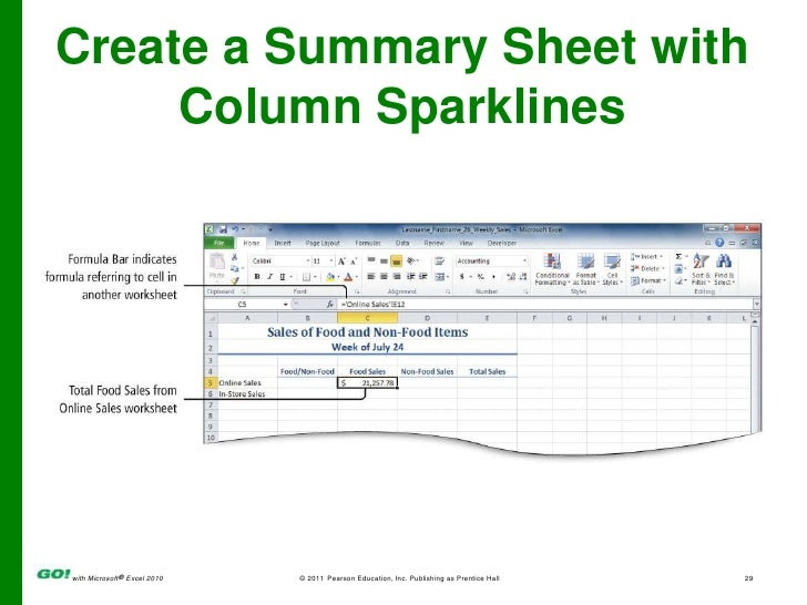 MS Excel Ch 2 PPT