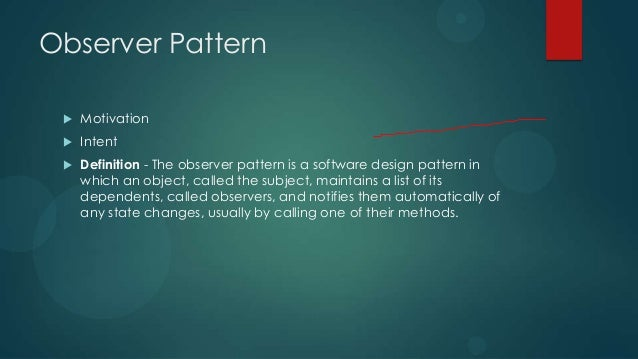 Open Classroom Design Pattern In Java : Gof design patterns