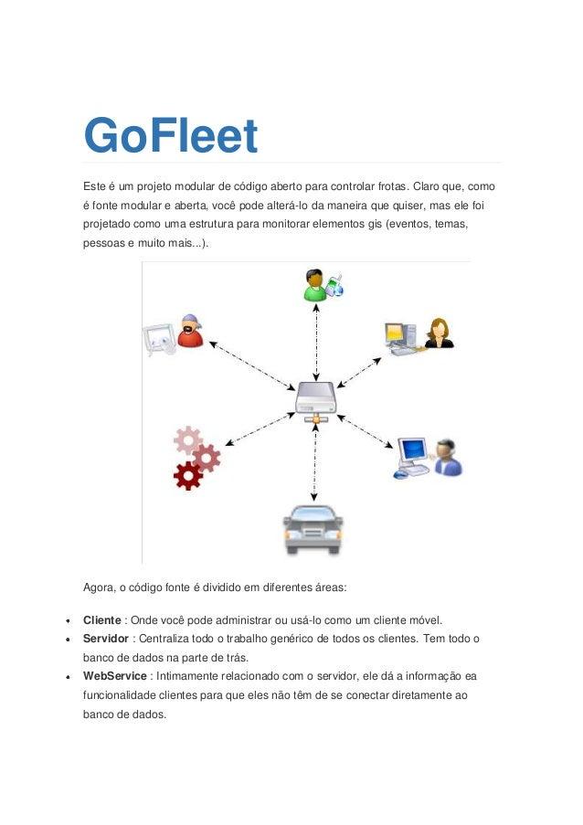 GoFleet Este é um projeto modular de código aberto para controlar frotas. Claro que, como é fonte modular e aberta, você p...
