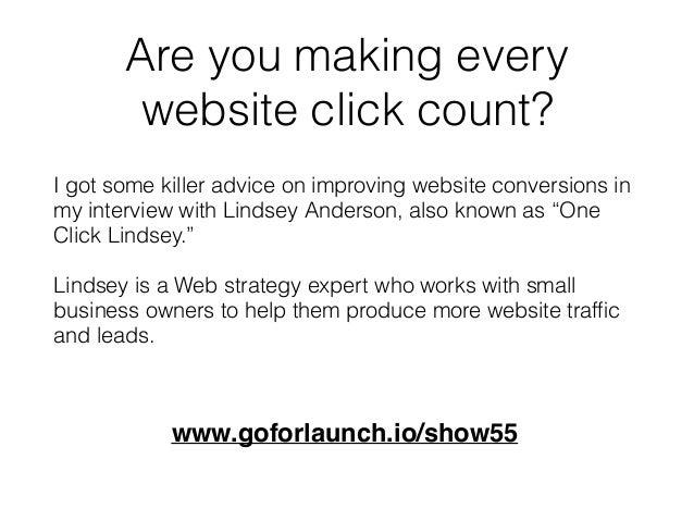 Make Every Website Click Count Slide 3