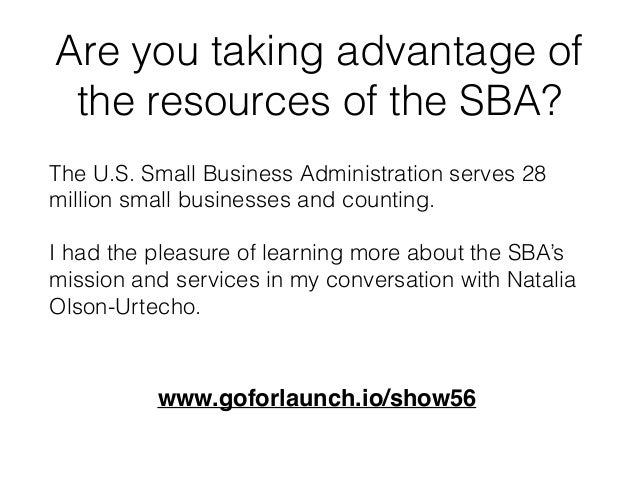 How The Small Business Administration Helps Entrepreneurs Slide 3