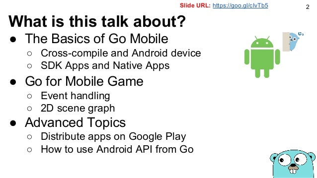 Mobile games on the go