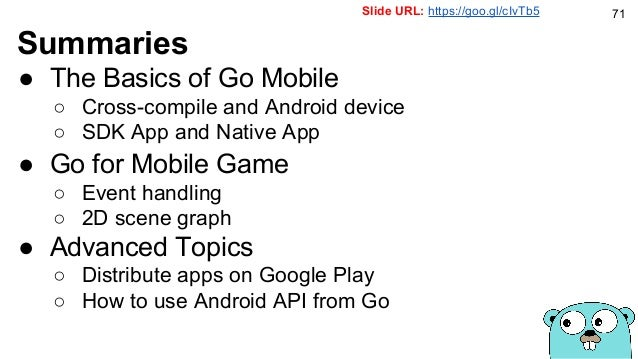 Go for Mobile Games
