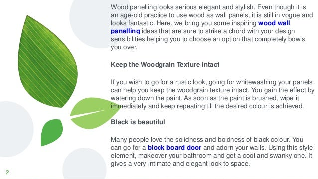 Go For Wow Worthy Walls With Amazing Wood Wall Paneling Ideas
