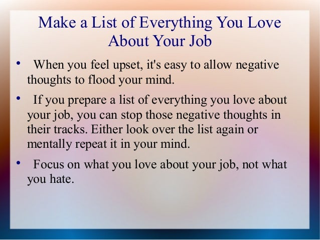 if you hate your job