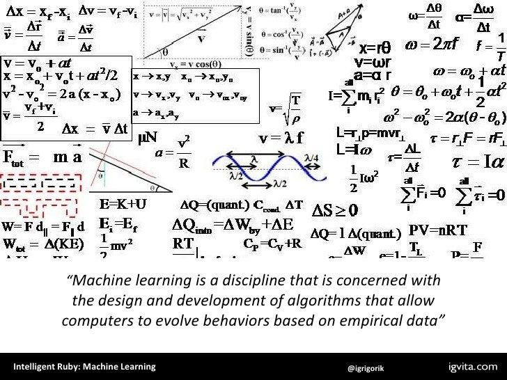 Intelligent Ruby + Machine Learning Slide 3