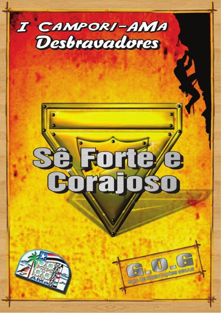COMPARTILHANDO ESTA AVENTURAMeu irmao de lençoBem vindo ao I Campori de Desbravadores da AMa.Será inesquecível, marcante. ...