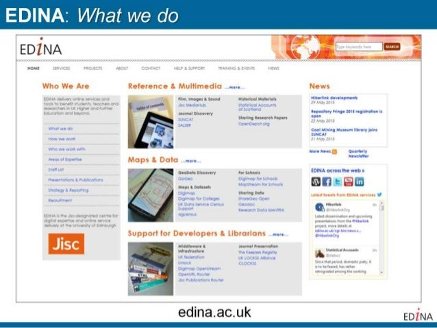 GoGeo: A Jisc-funded service to promote and support spatial data management and sharing across UK academia Slide 3