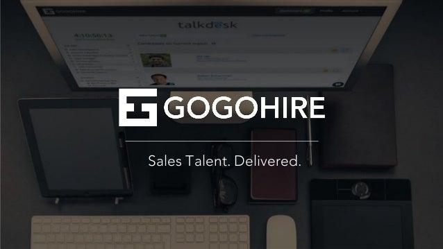 Sales Talent. Delivered.