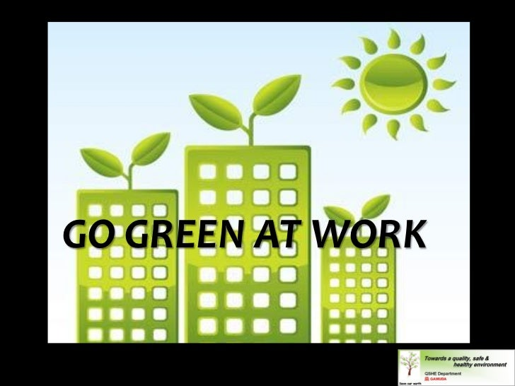 GREENERGO GREEN AT WORK