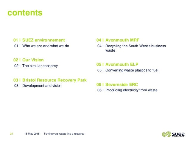 Turning Waste Into A Resource James Pike Suez Environement