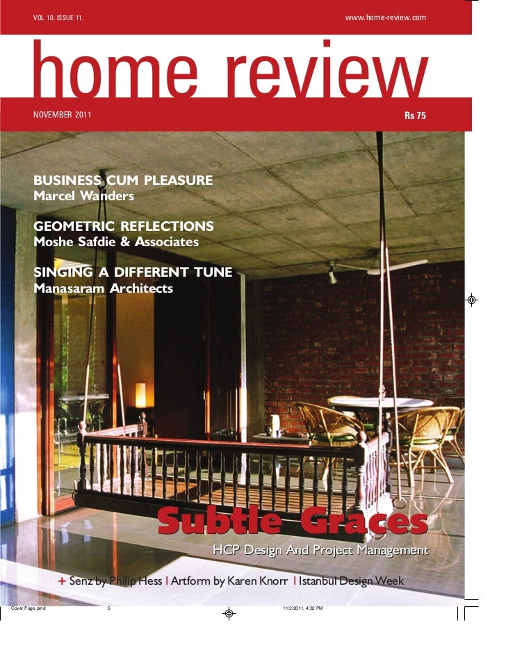 VOL 10. ISSUE 11.                                               www.home-review.comhome reviewNOVEMBER 2011               ...