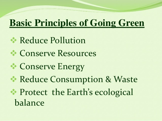 go green ppt, Powerpoint templates