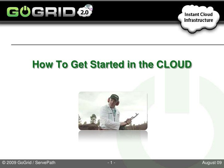 How To Get Started in the CLOUD<br />