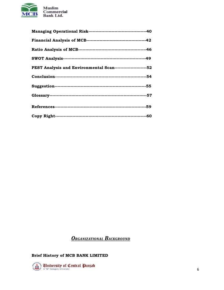 mcb organizational analysis View sandra šćepanović's professional profile on financial statement analysis, business case, dcf/capex analysis, stock mcb-menadzment centar.