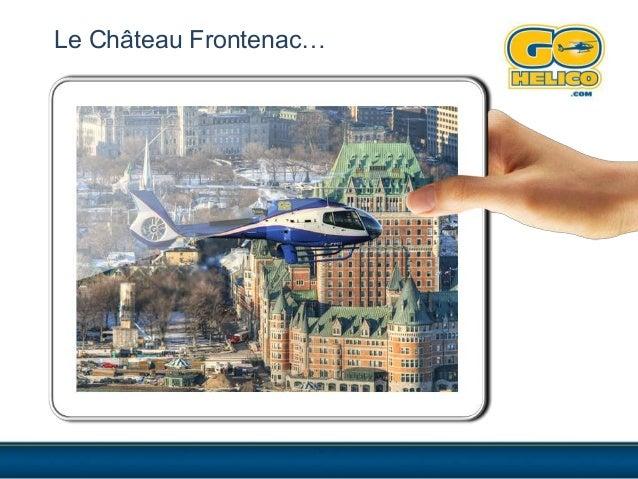 Le Château Frontenac…