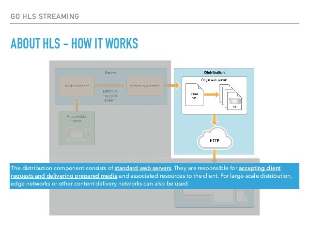 Implementing HLS server with GO