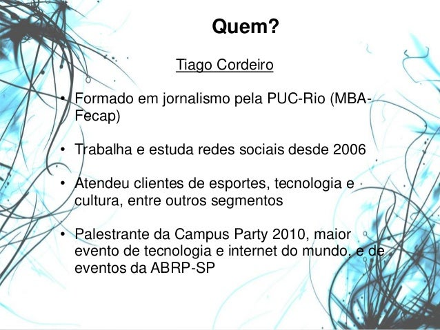 Palestra redes sociais na Fecomercio-GO Slide 2