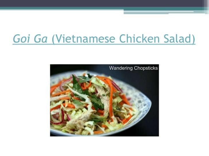 GoiGa (Vietnamese Chicken Salad)<br />