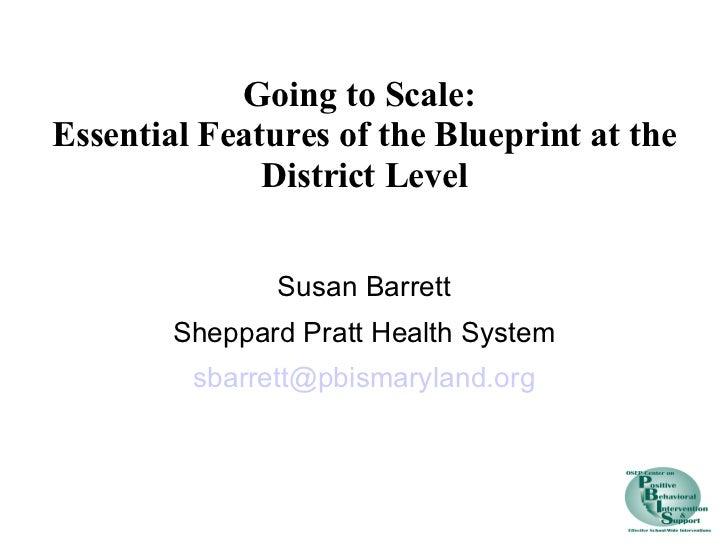 <ul><li>Susan Barrett </li></ul><ul><li>Sheppard Pratt Health System </li></ul><ul><li>[email_address] </li></ul>Going t...