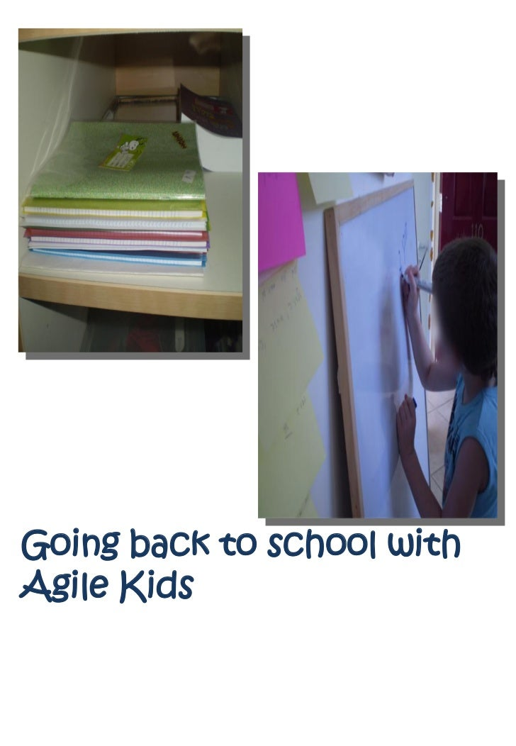 Going back to school withAgile Kids