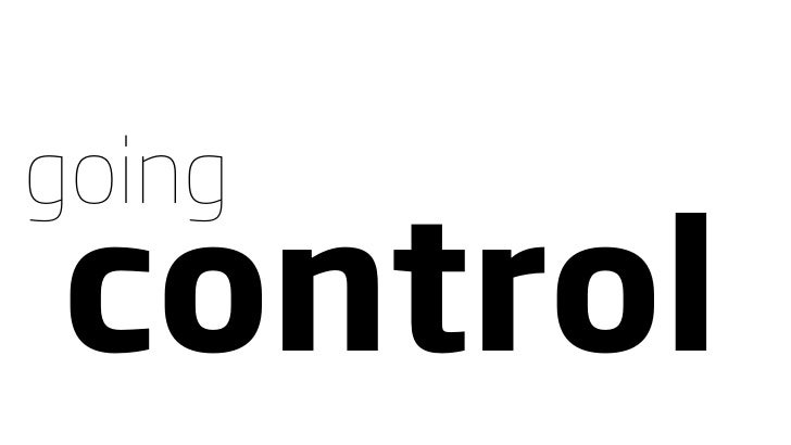 going control