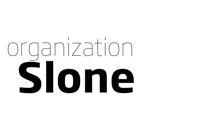 organization Slone
