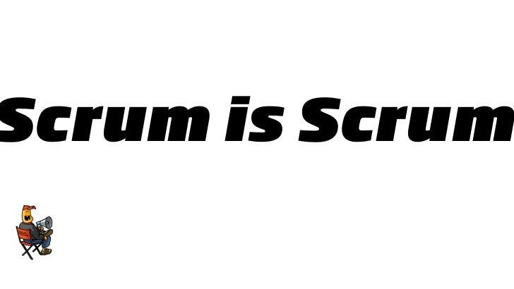 crum is Scrum