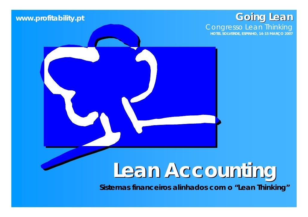 www.profitability.pt                                             Going Lean                                               ...