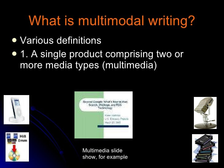 Going Multimodal In The Writing Classroom
