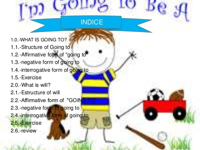 Be going to and will exercises pdf