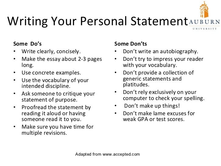 Personal statement advice: Tell a story, experts say