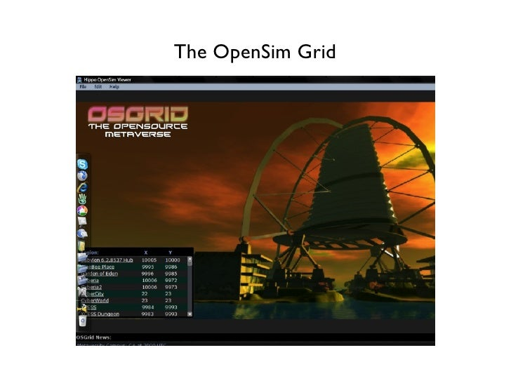 The OpenSim Grid